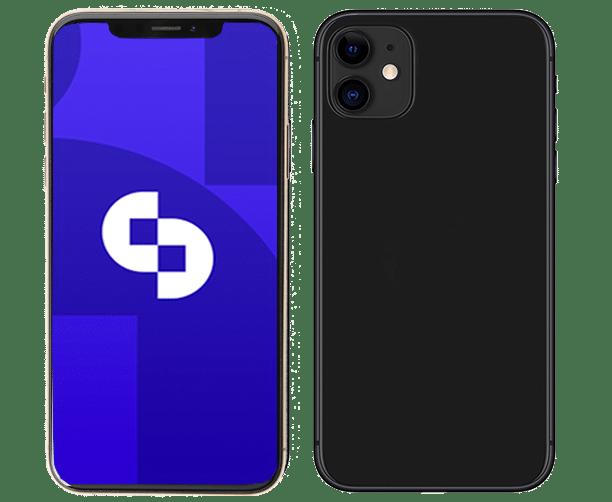 iPhone 11 Schwarz Slider