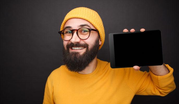 Tablet verpfänden Titelbild